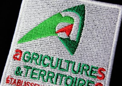 Agricultures & Territoires – Broderie