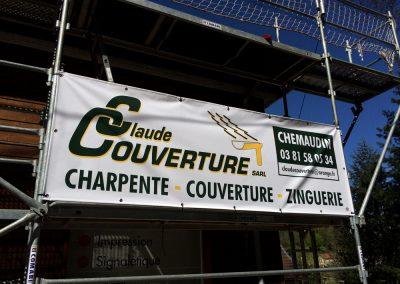 Claude Couverture – Banderole