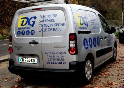 DG Rénovation – Véhicule