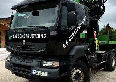EG Constructions – Camion Renault
