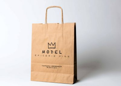 Epicerie Model – Sac kraft