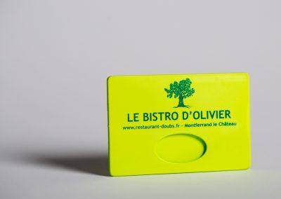 Le Bistro d'Olivier – Porte carte