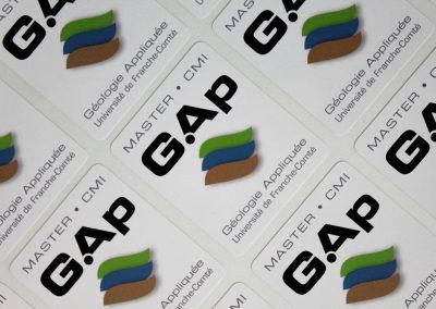 Master GAP – Autocollant