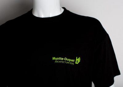 Myotte-Duquet Tee-shirt Détail coeur