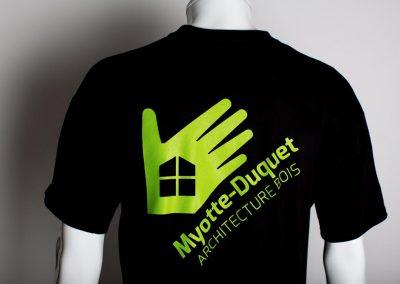 Myotte-Duquet Tee-shirt Détail dos