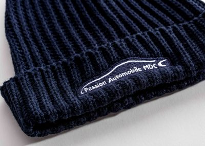 Passion Automobile – Bonnet – Broderie