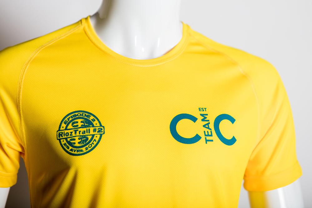 CIC Trail Rioz tee shirt sérigraphie