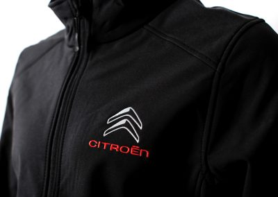 Citroën softshell broderie coeur