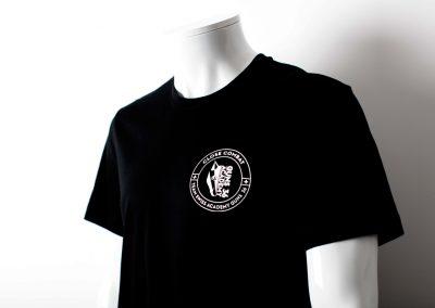 GUNS36 Tee shirt coeur sérigraphie