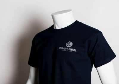 Samuel Estanave tee-shirt sérigraphie