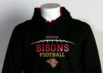 Flocage couleur sport Bisons