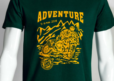 adventure tee-shirt