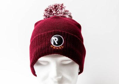 broderie logo bonnet mecene