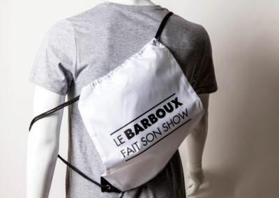 sac personnalisation barboux