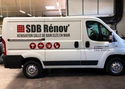SDB Rénov camion